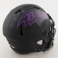 Ray Lewis Signed Ravens Eclipse Alternate Speed Full-Size Helmet (Beckett COA) (See Description) at PristineAuction.com