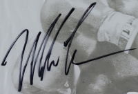 Mike Tyson Signed 20x22 Custom Framed Promotional Plastic Poster Display (PSA COA) at PristineAuction.com