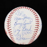 1986 Mets World Series Baseball Team-Signed by (24) with Dwight Gooden, Darryl Strawberry, Davey Johnson, Ray Knight (Beckett LOA) at PristineAuction.com