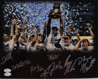2016 Villanova Wildcats National Champions 11x14 Photo Team-Signed by (8) Including Josh Hart, Kevin Rafferty, Daniel Ochefu, Henry Lowe (JSA COA) at PristineAuction.com