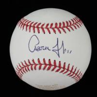 Aaron Judge Signed LE Laser Engraved OML Baseball (JSA LOA) at PristineAuction.com