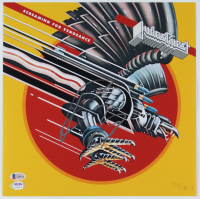 "Rob Halford Signed ""Judas Priest"" Screaming For Vengeance 12x12 Photo (Beckett COA & PSA Hologram) (See Description) at PristineAuction.com"