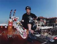 Tony Hawk Signed 11x14 Photo (Beckett COA) at PristineAuction.com