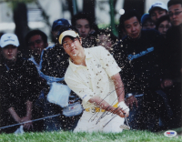 Ryo Ishikawa Signed 11x14 Photo (PSA COA) at PristineAuction.com