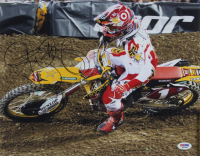 Ryan Dungey Signed 11x14 Photo (PSA COA) at PristineAuction.com