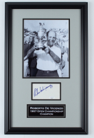Roberto De Vicenzo Signed 14x22 Custom Framed Photo Display (JSA COA) at PristineAuction.com