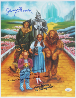"""""""The Wizard of Oz"""" 11x14 Photo Cast-Signed by (3) with Mickey Carroll, Jerry Maren, & Karl Slover with Multiple Inscriptions (JSA COA) (See Description) at PristineAuction.com"""