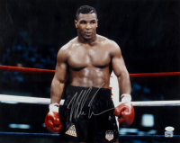 Mike Tyson Signed 16x20 Photo (JSA COA & Fiterman Sports Hologram) at PristineAuction.com