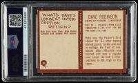 "Dave Robinson Signed 1967 Philadelphia #80 RC Inscribed ""HOF 2013"" (PSA Encapsulated) at PristineAuction.com"