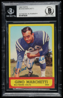 Gino Marchetti Signed 1963 Topps #8 (BGS Encapsulated) at PristineAuction.com