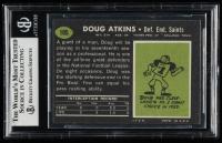 Doug Atkins Signed 1969 Topps #105 (BGS Encapsulated) at PristineAuction.com