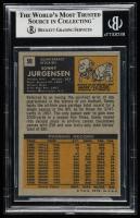 Sonny Jurgensen Signed 1971 Topps #50 (BGS Encapsulated) at PristineAuction.com