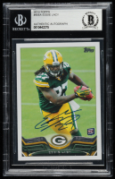 Eddie Lacy Signed 2013 Topps #406A RC (BGS Encapsulated) at PristineAuction.com