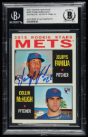 Jeurys Familia Signed 2013 Topps Heritage #398 RC (BGS Encapsulated) at PristineAuction.com