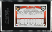 Jake Arrieta Signed 2011 Topps #393A (SGC Encapsulated) at PristineAuction.com
