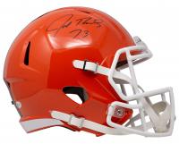 Joe Thomas Signed Browns Full-Size Speed Helmet (Beckett COA) at PristineAuction.com