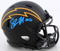 Shawne Merriman Signed Chargers Eclipse Alternate Speed Mini-Helmet (PSA COA) at PristineAuction.com