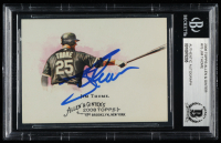 Jim Thome Signed 2008 Topps Allen and Ginter #76 (BGS Encapsulated) at PristineAuction.com