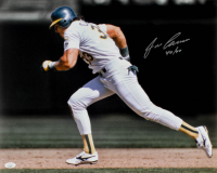 "Jose Canseco Signed Athletics 16x20 Photo Inscribed ""40/40"" (JSA COA) at PristineAuction.com"