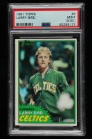 Larry Bird 1981-82 Topps #4 (PSA 9) (OC) at PristineAuction.com