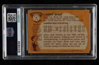 Larry Bird 1981-82 Topps #4 (PSA 9) (OC) at PristineAuction.com