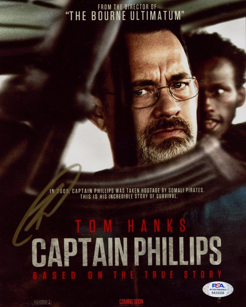 """Robert J. O'Neill Signed """"Captain Phillips"""" 8x10 Cover Photo (PSA Hologram) at PristineAuction.com"""