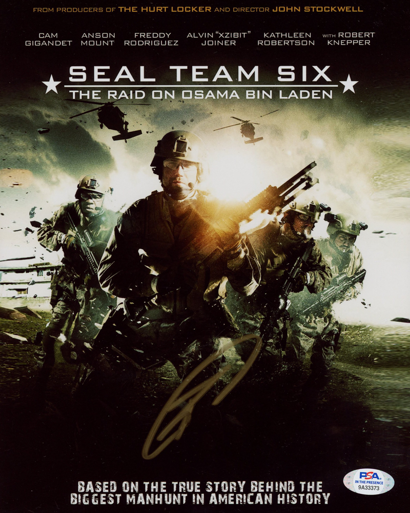 """Robert J. O'Neill Signed """"Seal Team Six: The Raid On Osame Bin Laden"""" 8x10 Cover Photo (PSA Hologram) at PristineAuction.com"""