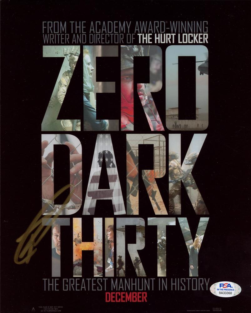 "Robert J. O'Neill Signed ""Zero Dark Thirty"" 8x10 Photo (PSA Hologram) at PristineAuction.com"