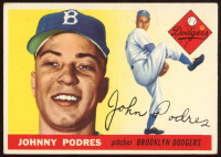 Johnny Podres 1955 Topps #25 at PristineAuction.com