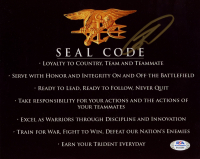 "Robert J. O'Neill Signed ""SEAL Code"" 8x10 Photo (PSA Hologram) at PristineAuction.com"