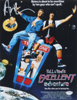 "Alex Winter Signed ""Bill & Ted's Excellent Adventure"" 11x14 Movie Poster Print (PSA COA) at PristineAuction.com"
