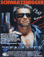 "Michael Biehn Signed ""The Terminator"" 11x14 Photo Inscribed ""Reese"" (PSA COA) at PristineAuction.com"