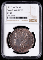 1897 Morgan Silver Dollar, VAM-8 DDO Stars Hot 50 (NGC XF45) at PristineAuction.com