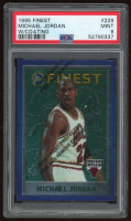 Michael Jordan 1995-96 Finest #229 With Coating (PSA 9) at PristineAuction.com