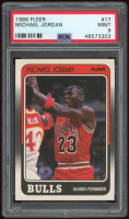 Michael Jordan 1988-89 Fleer #17 (PSA 9) at PristineAuction.com
