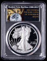 2017-W American Silver Eagle $1 One Dollar Coin - First Day of Issue, Modern Coin Rarities Label (PCGS PR70 Deep Cameo) at PristineAuction.com