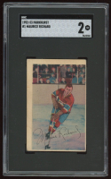 Maurice Richard 1952-53 Parkhurst #1 (SGC 2) at PristineAuction.com