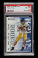 Tom Brady 2000 Impact #27 RC (PSA 10) at PristineAuction.com