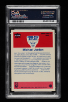 Michael Jordan 1986-87 Fleer Stickers #8 (PSA 8) at PristineAuction.com