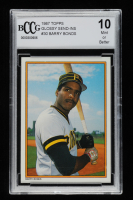 Barry Bonds 1987 Topps Glossy Send-Ins #30 (BCCG 10) at PristineAuction.com
