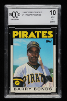 Barry Bonds 1986 Topps Traded #11T XRC (BCCG 10) at PristineAuction.com