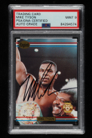 Mike Tyson Signed 1991 Ringlords #NNO Promo (PSA Encapsulated) at PristineAuction.com