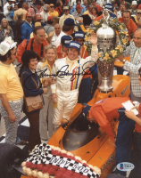 Johnny Rutherford Signed NASCAR 8x10 Photo (Beckett COA) at PristineAuction.com
