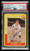 Al Kaline Signed 1991 Swell Baseball Greats #53 (PSA Encapsulated) at PristineAuction.com