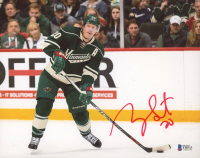 Ryan Suter Signed Wild 8x10 Photo (Beckett COA) at PristineAuction.com