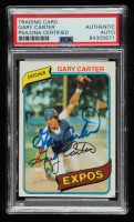 Gary Carter Signed 1980 Topps #70 (PSA Encapsulated) at PristineAuction.com
