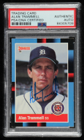 Alan Trammell Signed 1988 Donruss #230 (PSA Encapsulated) at PristineAuction.com