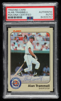 Alan Trammell Signed 1983 Fleer #344 (PSA Encapsulated) at PristineAuction.com