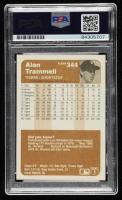 Alan Trammell Signed 1983 Fleer #344 (PSA Encapsulated) at PristineAuction.com