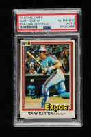 Gary Carter Signed 1981 Donruss #90 (PSA Encapsulated) at PristineAuction.com